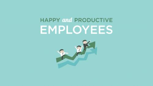 Blije en productieve werknemers