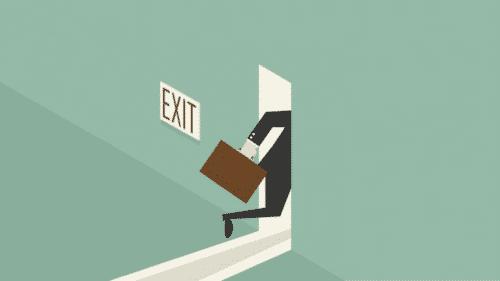 Werknemer verlaat bedrijf push- en pullfactoren
