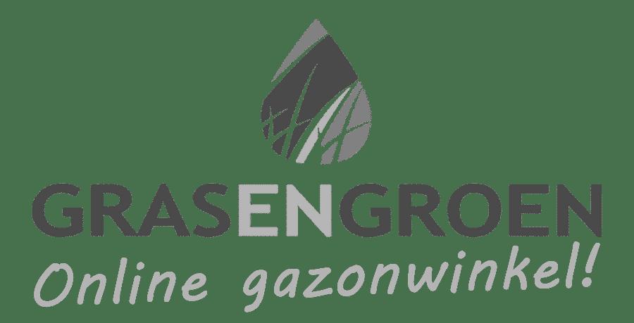 logo gras en groen